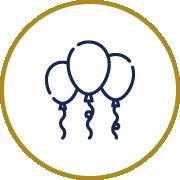 Icône de 3 ballons
