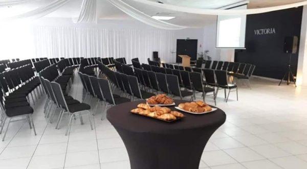 Salle du domaine Victoria pour une assemblée