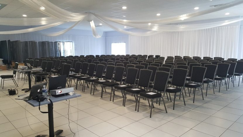 Salle du domaine Victoria pour la formation CAF